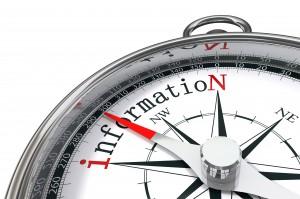 informaion concept compass