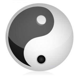 yin yang ID-10043360