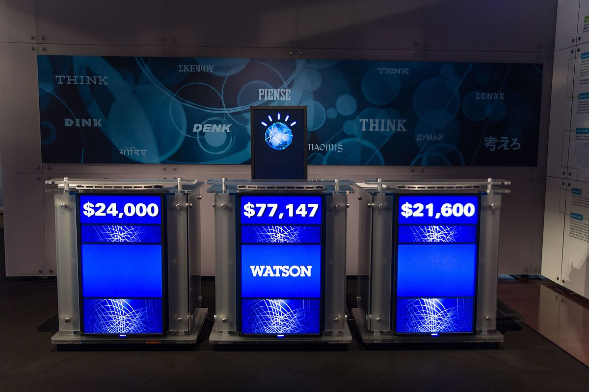 IBM Watson won Jeopardy in 2011