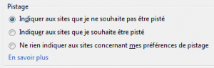 "Option ""Do not track"" de Firefox (onglet ""Vie privée"")"