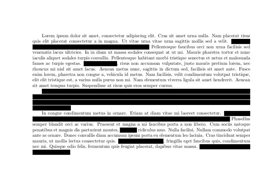 anonymiseren van documenten