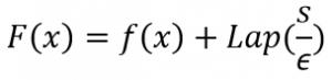 Definitie van de functie F